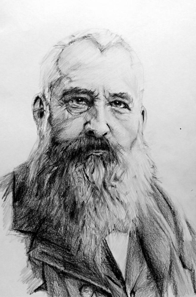 Claude Monet by linshyhchyang